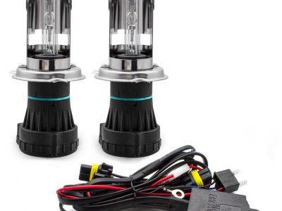 HENKEL Лампа автомобильная биксеноновая H4 4300к, комплект