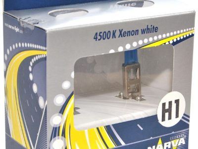 NARVA Лампа автомобильная ксеноновая H1 RANGE POWER WHITE 4500K P14.5s 55W 12V, в блистере 2шт