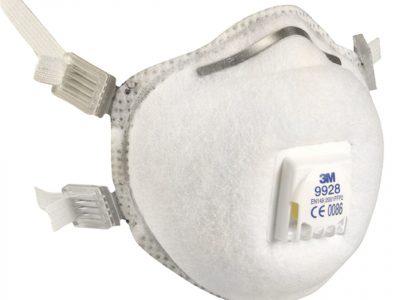 3M Респиратор для защиты органов дыхания с клапаном FFP2  чашеобразный 9928