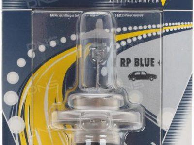 NARVA Лампа автомобильная галогенная H4 12V 55W+50% Range Power Blue+, 1шт