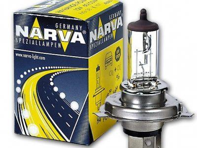 NARVA Лампа автомобильная галогенная H4 12V 55W+30% Range Power Blue+, 1шт