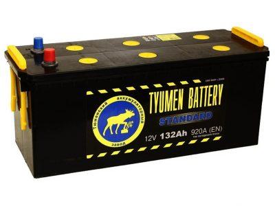 TYUMEN BATTERY Аккумуляторная батарея автомобильная 190 A/h прямая полярность