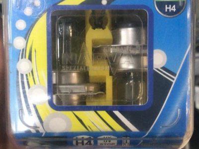 NARVA Лампа автомобильная галогенная H4 12V 60/55W, 2шт