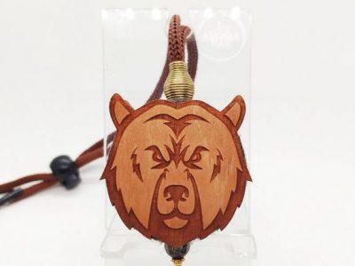 AROMA BAR Ароматизатор «Медведь» в коричневом цвете