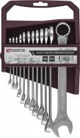 THORVIK Набор ключей гаечных комбинированных на держателе, 6-22 мм, 12 предметов