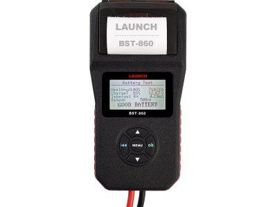 LAUNCH Тестер АКБ, системы зарядки BST 860, поддержка 12В, 24В, с принтером, русская версия
