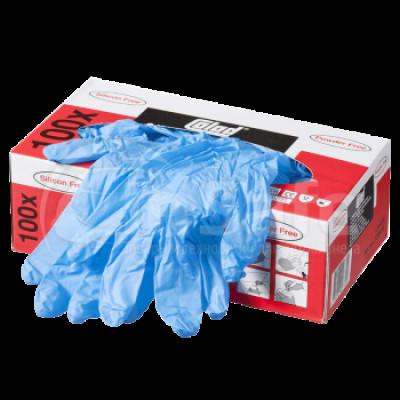 COLAD Перчатки нитриловые, синие устойчивые к растворителю, размер XL (пара)