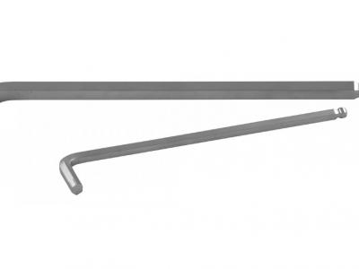 THORVIK Ключ торцевой шестигранный с шаром, H10