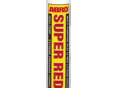 ABRO Смазка литиевая красная картридж, 454г