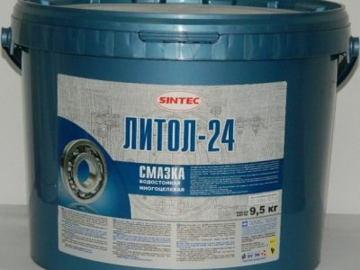 SINTEC Смазка Литол-24, 9,5л
