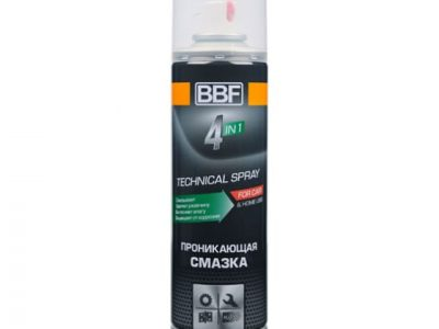 BBF Проникающая смазка 4 in1 аэрозоль, 300 мл