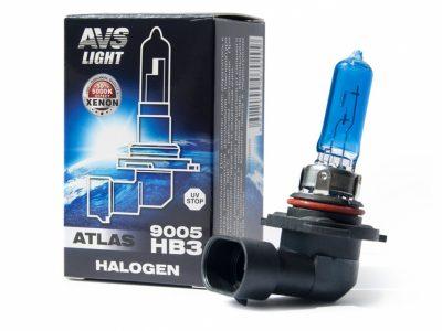 AVS Лампа галогенная ATLAS ANTI-FOG / H7.12V.55W коробка, 1 шт